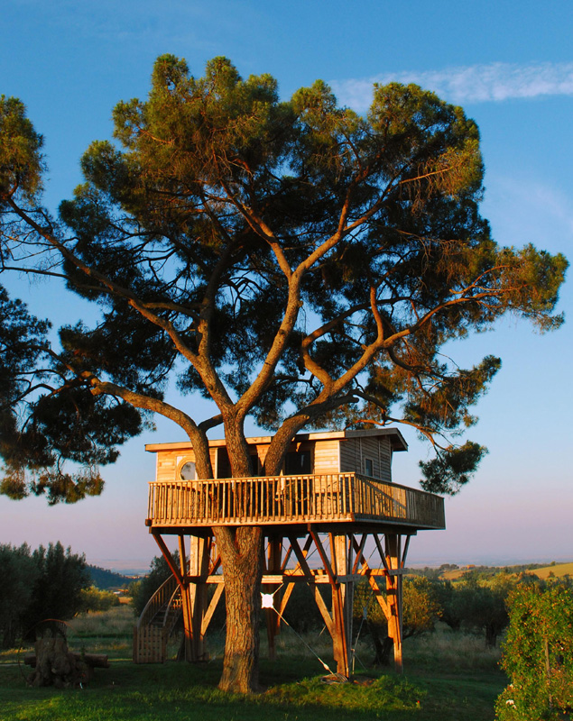 tuscan treehouse