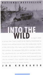 top travel books Into The Wild - Jon Krakauer