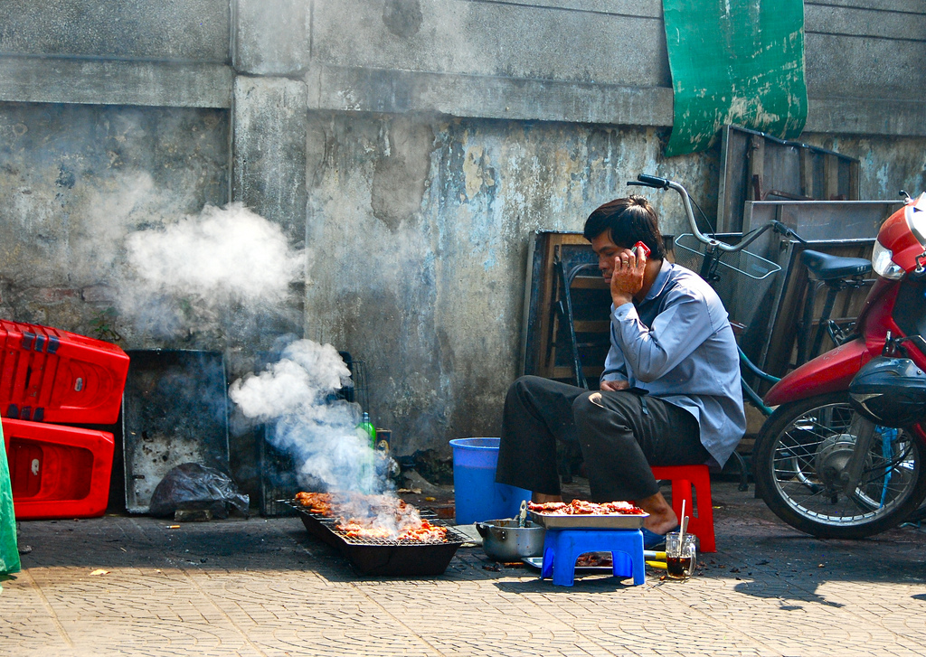 saigon highlights Street Food