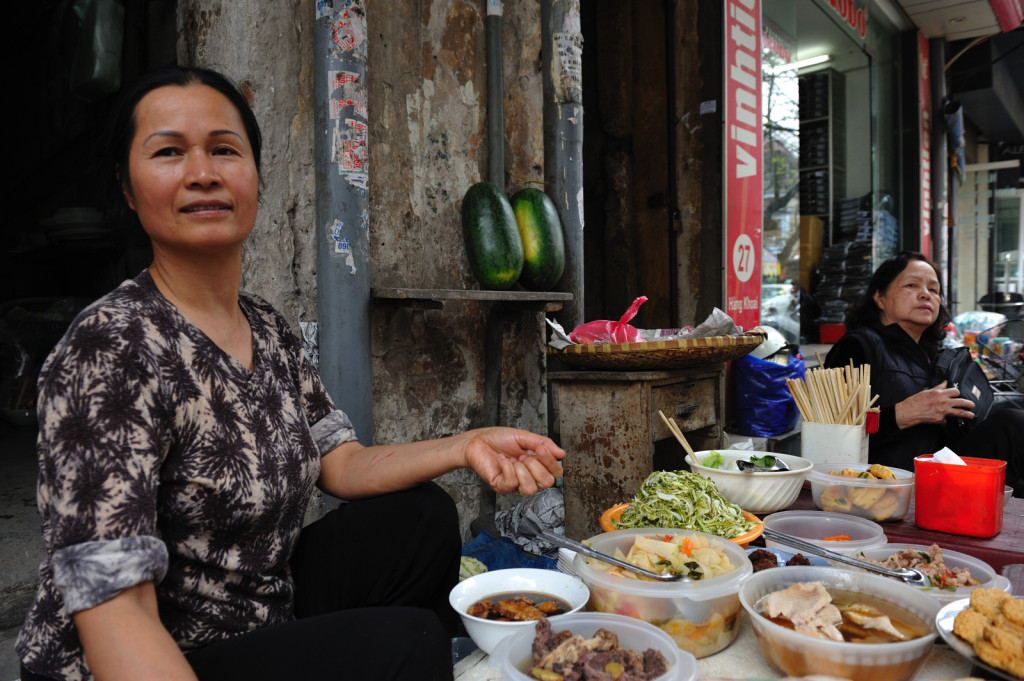 hanoi highlights street food