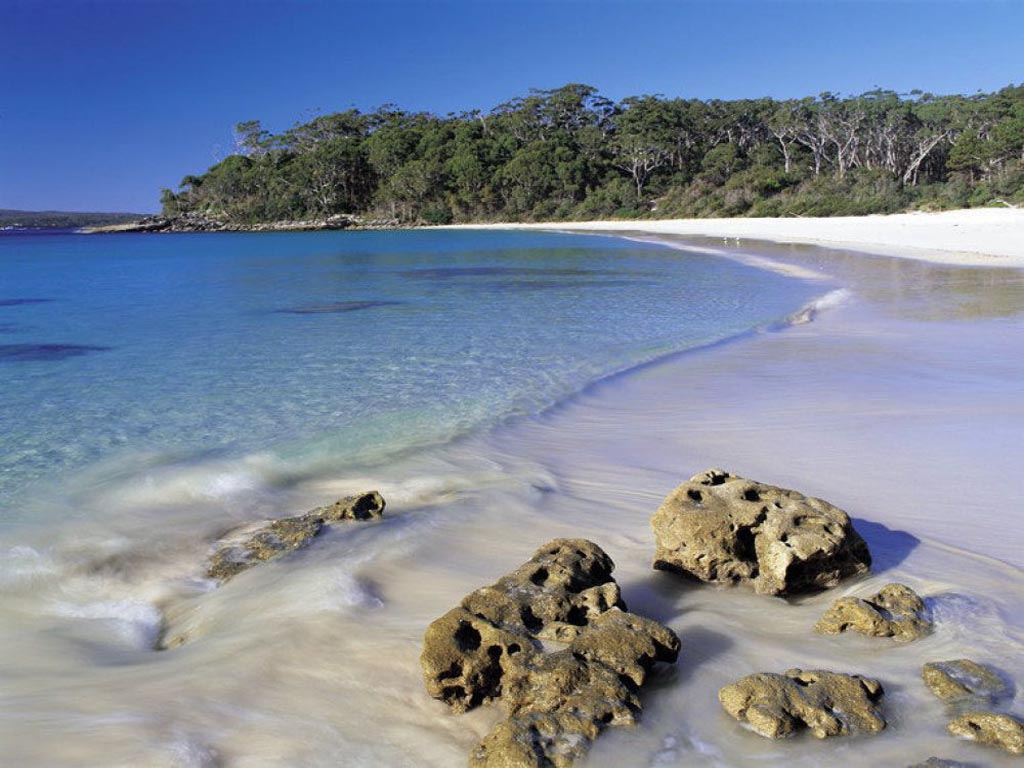 romantic getaways in australia Jervis Bay