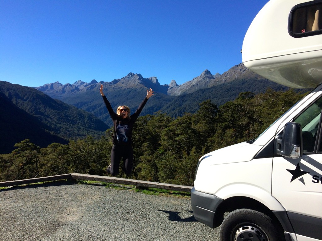 Why camper vans are cool Milford Sound