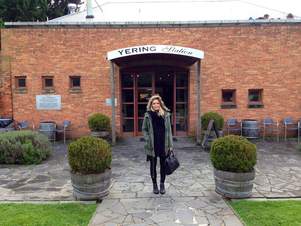 Stefanie Acworth Yering Station Yarra Valley weekend