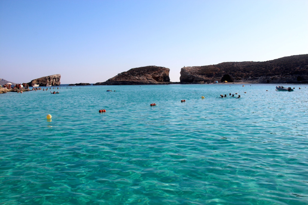 Blue Lagoon Comino Gozo travel highlights