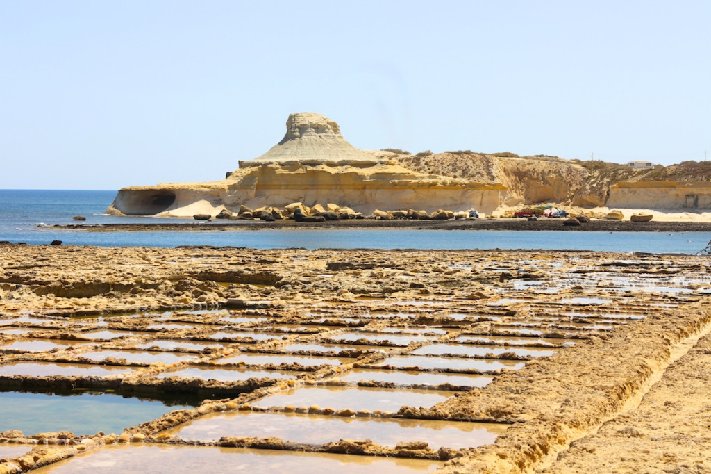 Xwejni Bay Salt Flats gozo travel highlights