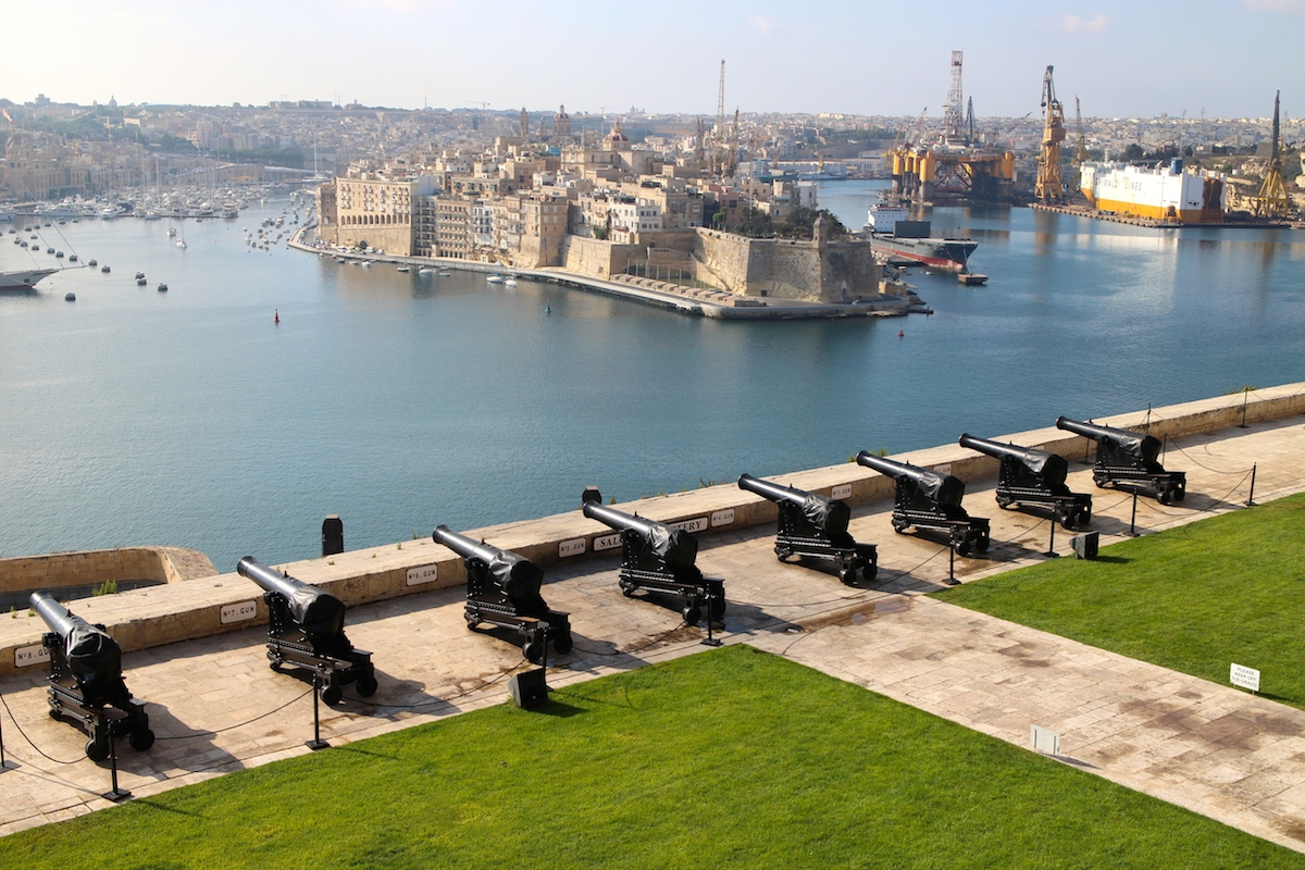 The Grand Harbour Malta