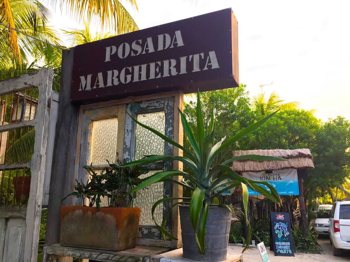 Posada Margherita entrance