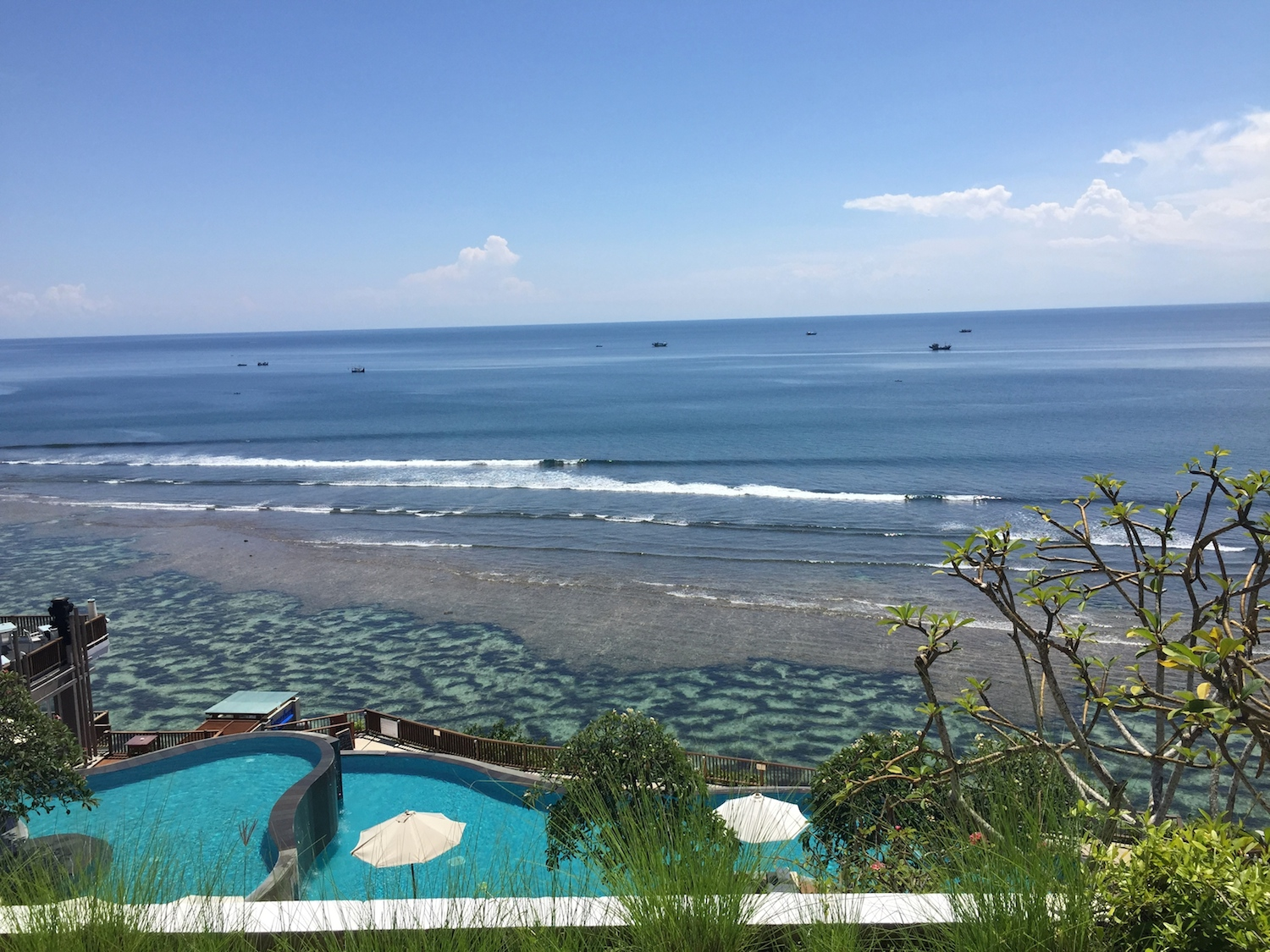 The Anantara Uluwatu Hotel View