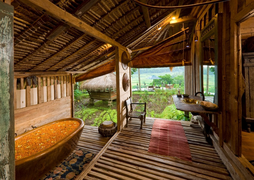 bambu indah bali outdoor bathrooms
