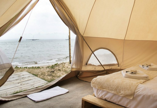 Flash Camp Pop-Up Hotel: From Glam Camps to Canvas Hotels
