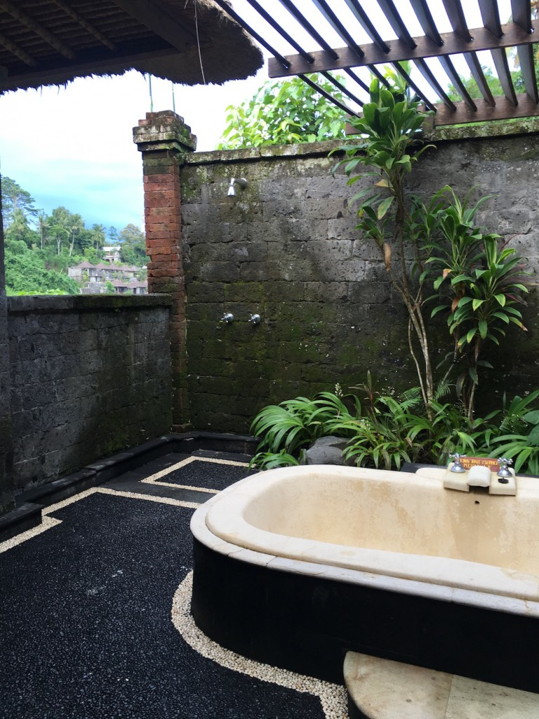 natura resort bali outdoor bathrooms