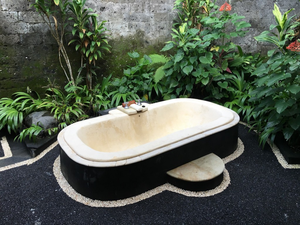 natura resort ubud bali outdoor bathrooms