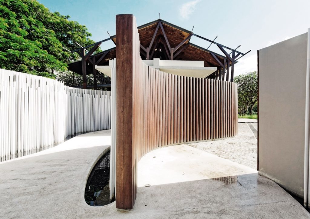 the bale bali reception architecture
