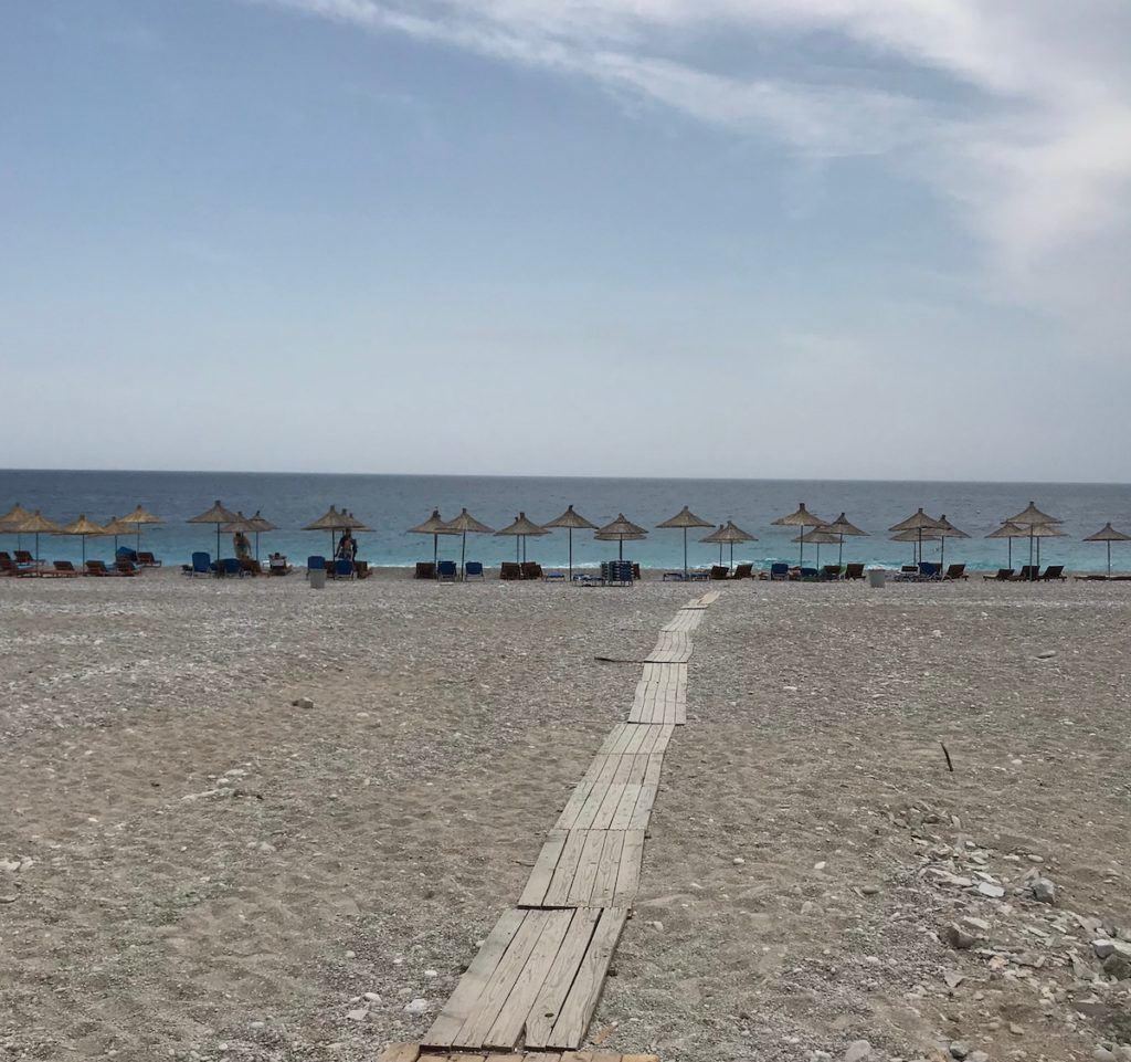 why travel in albania is weird deserted beaches
